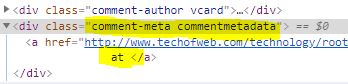 wordpress comments css class