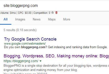 Google no indexing website
