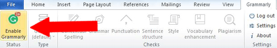 Grammarly in Microsoft Office