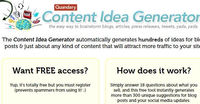 Quandary Headline Generator Tool