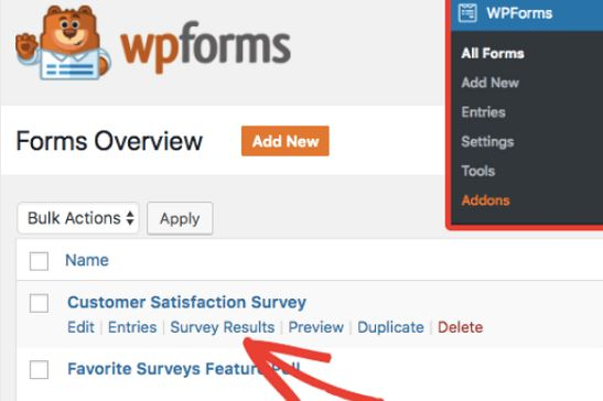 Generate WordPress Survey Reports