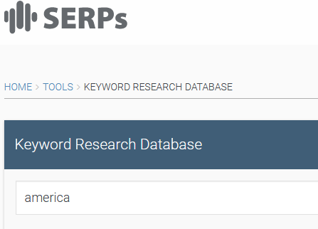 LSI Keyword Research Database