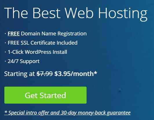 How Start Blog with Bluehost