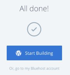 Start Building WordPress Blog