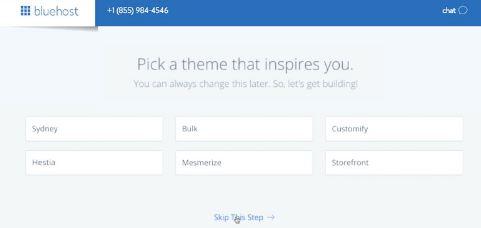 Starting Blog WordPress Theme