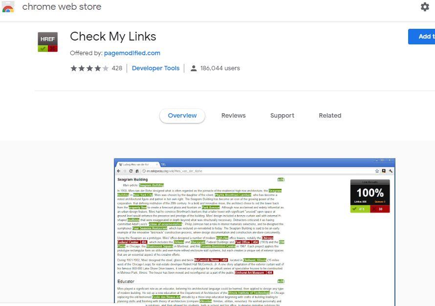 Backlinks Check My Links